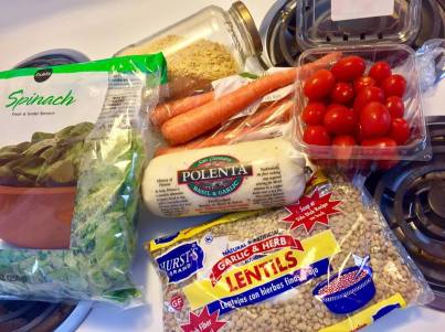 lentil & blistered tomato polenta7